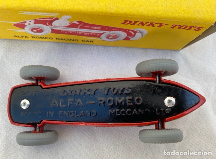 Coches a escala: DINKY. Alfa Romeo Dinky Toys antiguo - Foto 15 - 267286579