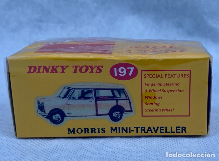 Coches a escala: DINKY. Coche Morris Mini-Traveller 197 Dinky Toys - Foto 3 - 273376613