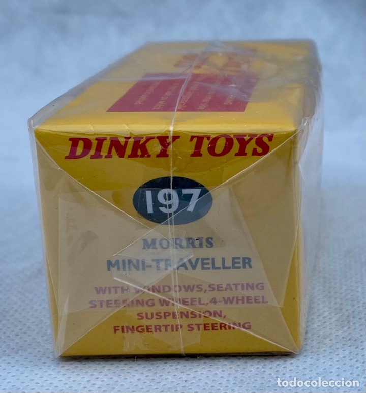 Coches a escala: DINKY. Coche Morris Mini-Traveller 197 Dinky Toys - Foto 4 - 273376613