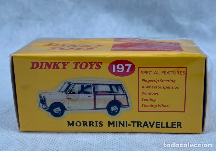DINKY. COCHE MORRIS MINI-TRAVELLER 197 DINKY TOYS (Juguetes - Coches a Escala 1:43 Dinky Toys)
