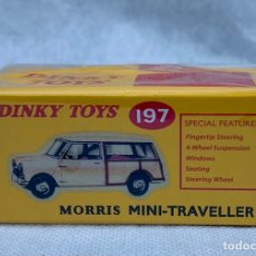 Coches a escala: DINKY. COCHE MORRIS MINI-TRAVELLER 197 DINKY TOYS. Lote 273376613