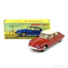 Coches a escala: DINKY TOYS/ATLAS CITROEN DS 19-MODELO AÑO 1955-1967 1:43, ROJO, EMBALAJE ORIGINAL NUEVO - METALICO. Lote 276314988