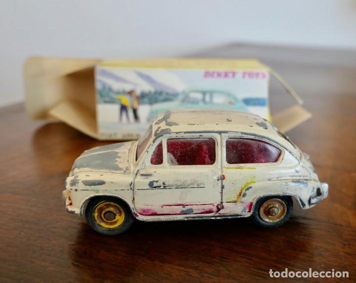 DINKY TOYS 520 FIAT 600 -CAJA ORIGINAL. (Juguetes - Coches a Escala 1:43 Dinky Toys)