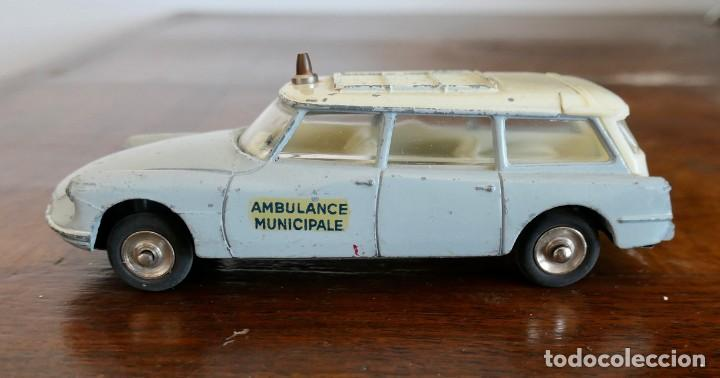 556 BREAK ID 19 CITROËN AMBULANCE MUNICIPALE DINKY TOYS AÑOS 1950-60 (Juguetes - Coches a Escala 1:43 Dinky Toys)