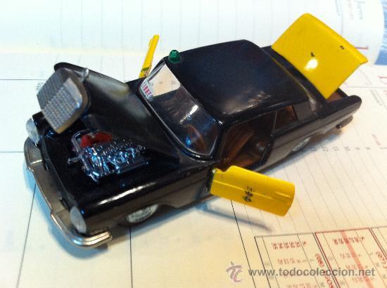 Coches a escala: MERCEDES 250 Coupe TAXI de BARCELONA de AUTO PILEN. - Foto 2 - 32972383