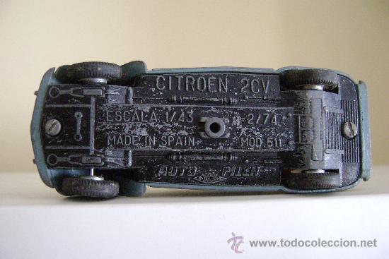 Coches a escala: CITROEN 2CV.PILEN - Foto 3 - 35470068