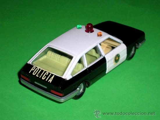 Coches a escala: Chrysler 150 policía, fabricado en metal, escala 1/43, Pilen. Original años 70. Excelente. - Foto 4 - 36648441