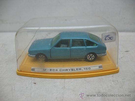 Coches a escala: Pilen - Coche M-804 Chrysler 150 fabricado en España - Escala 1:43 - Foto 5 - 37050811