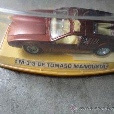 Model Cars - COCHE PILEN MODELO M 313 DE TOMASO MANGUSTA - 38007240