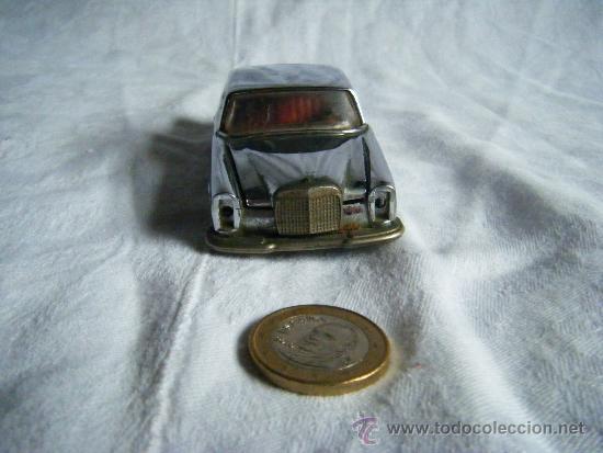 Coches a escala: MERCEDES 250 COUPE - AUTO PILEN - METAL - PLATEADO - PLATA - Foto 5 - 38780205