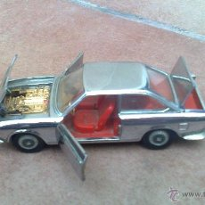 Model Cars - PRECIOSO SEAT 124 SPORT COUPE 1600 CROMADO MARCA AUTO PILEN MOD 329 MADE IN SPAIN ESCALA 1/43 - 42486537