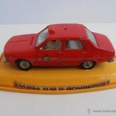 Coches a escala: COCHE PILEN RENAULT R-12 JEFE DE BOMBEROS. Lote 48286012