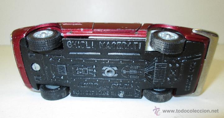 Coches a escala: AUTO PILEN GHIBLI MASERATI mod.507 esc. 1/43 - Foto 5 - 53208676
