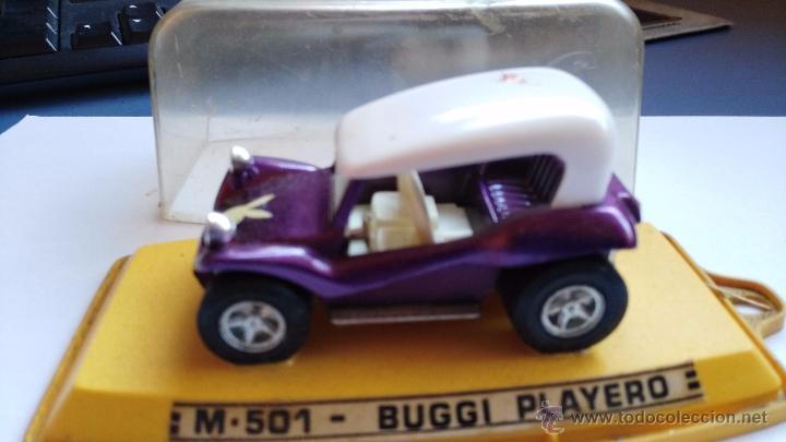 Coches a escala: coche antiguo pilen buggi playero en caja - Foto 2 - 53879885