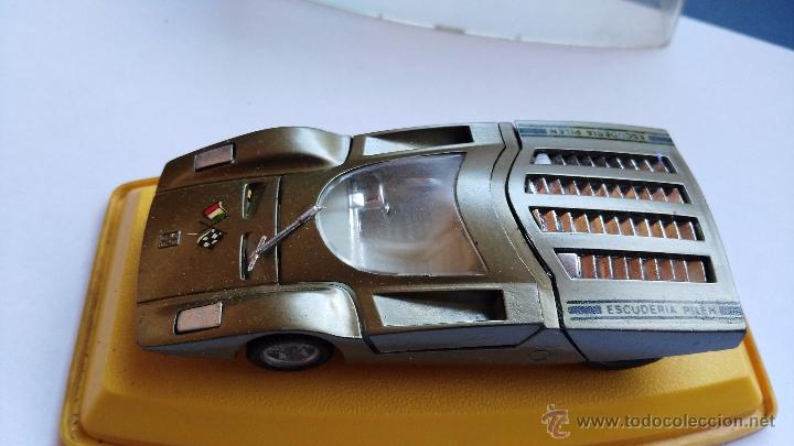 Coches a escala: coche pilen antiguo ferrari en caja - Foto 5 - 53879956