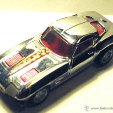 Coches a escala: PILEN 1:43 - CHEVROLET CORVETTE STINGRAY - CROMADO. Lote 54830655