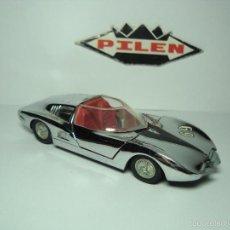 Model Cars - CHEVROLET MONZA GT ROADSTER CROMADO DE PILEN 1,43 - 31593609