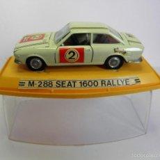 Coches a escala: M-288 SEAT 1600 RALLYE DE PILEN. Lote 58119454