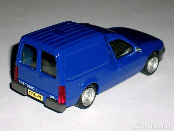 Coches a escala: Opel Kadett Kombo furgoneta, metal esc. 1/43, AHC Pilen, original año 1991. A estrenar - Foto 4 - 64516115