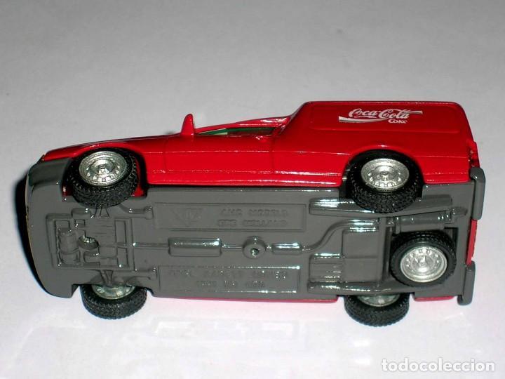 Coches a escala: Opel Kadett Kombo furgoneta Coca-Cola Coke, metal esc 1/43, AHC Pilen, original año 1991. A estrenar - Foto 6 - 64516219