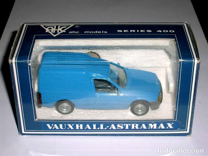 Coches a escala: Vauxhall Astramax Van Opel Kadett, metal esc 1/43, AHC Pilen, original año 1991. A estrenar - Foto 2 - 64516679