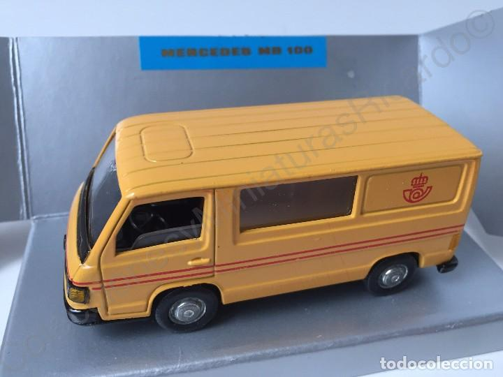 Coches a escala: PILEN. Mercedes MB 100 - Furgoneta comercial antigua 1:43 Empresa Pública de Correos - Pilen - MB100 - Foto 7 - 71546635