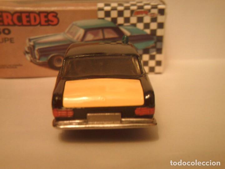 Coches a escala: Pilen,mercedes 250 coupe¨TAXI BARCELONA¨ - Foto 3 - 77541937