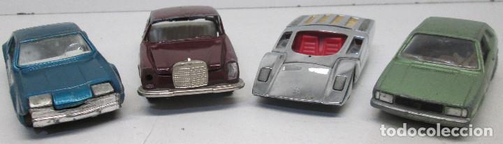 Coches a escala: coches AUTO PILEN,VW VOLKSWAGEN SCIROCCO,FERRARI 512 S,OLDSMOBILE TORONADO,MERCEDES 250 COUPE,1/43 - Foto 3 - 107324563