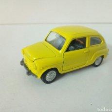 Auto in scala: EN MUY BUEN ESTADO SEAT 600 AUTO PILEN AMARILLO ESCALA 1:43. Lote 108710935