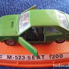 Coches a escala: COCHE PILEN SEAT 1200 VERDE, ESCALA 1/43. REFERENCIA M-539. Lote 112879863