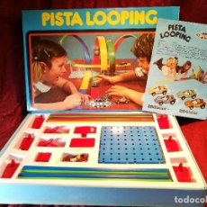 Coches a escala: PISTA LOOPING PILEN S.A. MADE IN SPAIN AÑOS 80 (COMPLETO) REF-200. Lote 118424711