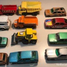 Model Cars - COCHES MINIATURA. PILEN,MAJORETTE,GUISVAL,MIRA,CORGI,SUPERFAST. - 119323134