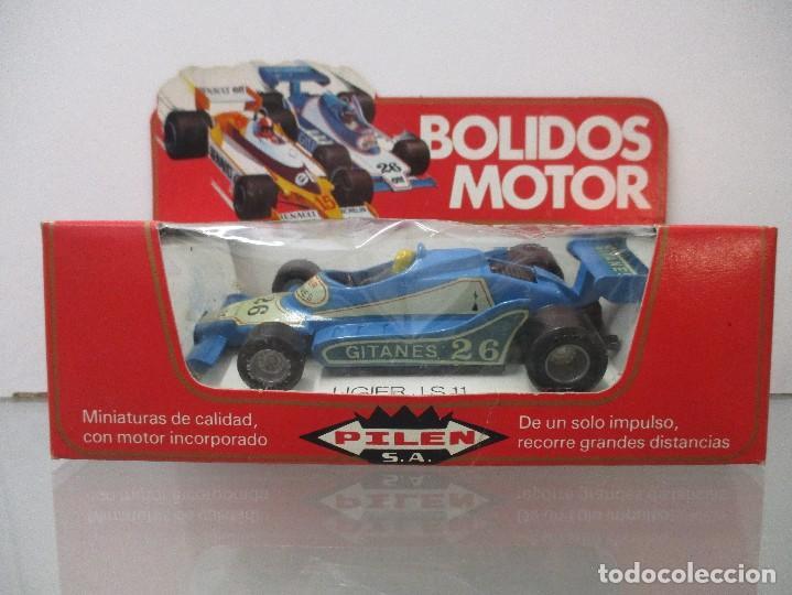 COLECCION BOLIDOS MOTOR COCHE LIGIER J S 11 CON CAJA ORIGINAL SIN JUGAR PILEN (Juguetes - Coches a Escala 1:43 Pilen)