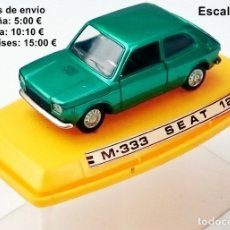 Coches a escala: PILEN REF 333 SEAT 127. Lote 115004127