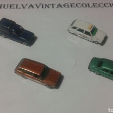 Auto in scala: COCHES PILEN, 4UNDS. ( RENAULT 4F, SEAT 131 FAM.POLICIA, PEUGEOT 504, SEAT 131 FAM. ). Lote 133065898