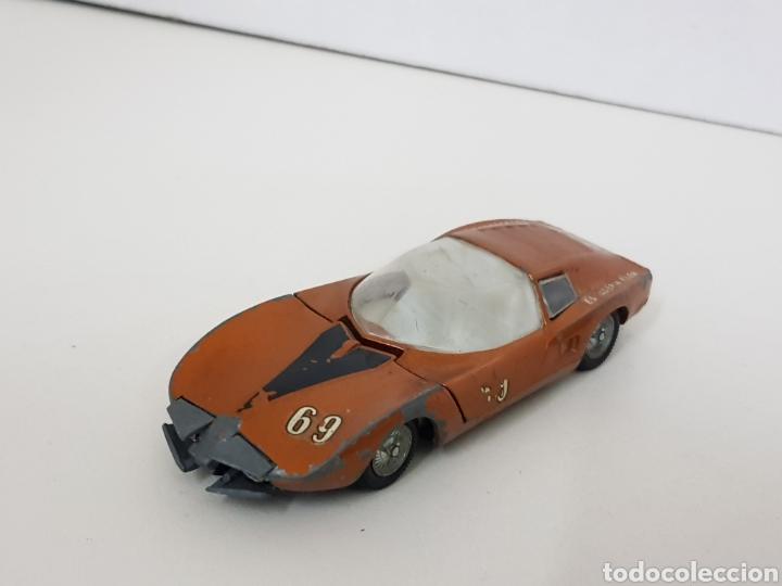 Coches a escala: Auto polen Monza gt los 301 par FABRICADO en España modelo dorado - Foto 2 - 136559097