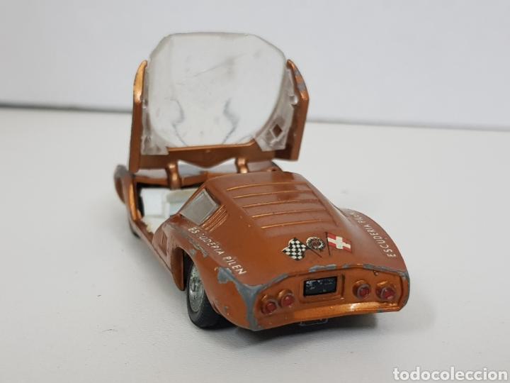 Coches a escala: Auto polen Monza gt los 301 par FABRICADO en España modelo dorado - Foto 3 - 136559097
