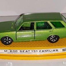 Model Cars - PILEN : ANTIGUO COCHE SEAT 131 FAMILIAR - MOD. 800 - MADE IN SPAIN AÑOS 70 ESCALA 1 / 64 - 137508570