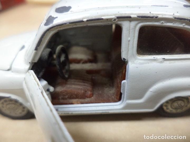 Coches a escala: Pilen.Auto Pilen.Seat 600 primera serie años 70.Con faltas. - Foto 7 - 153043829