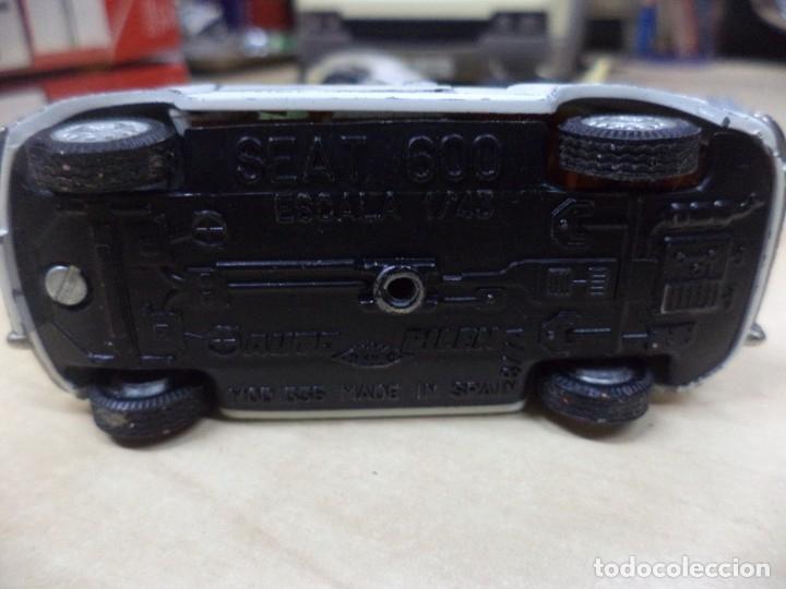 Coches a escala: Pilen.Auto Pilen.Seat 600 primera serie años 70.Con faltas. - Foto 8 - 153043829