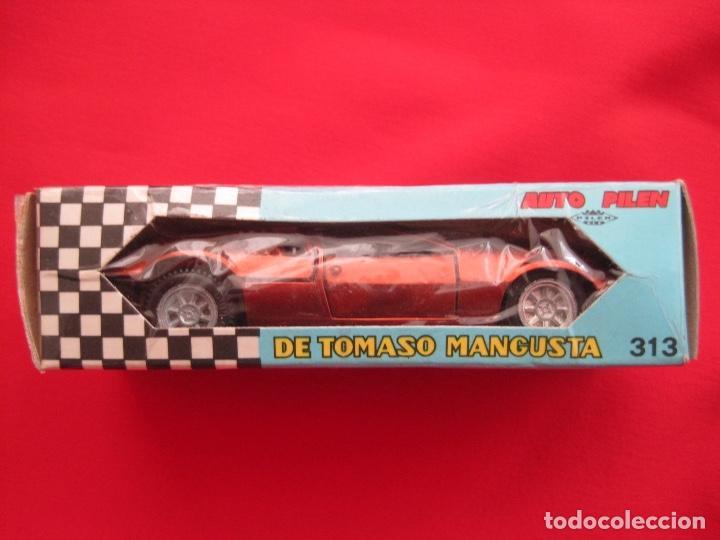 COCHE DE TOMASO MANGUSTA--PILEN 313 BRONCE BRONZE---IMPECABLE (Juguetes - Coches a Escala 1:43 Pilen)