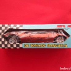 Coches a escala: COCHE DE TOMASO MANGUSTA--PILEN 313 BRONCE BRONZE---IMPECABLE. Lote 142676562