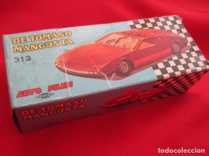 Coches a escala: coche DE TOMASO MANGUSTA--PILEN 313 BRONCE BRONZE---IMPECABLE - Foto 4 - 142676562