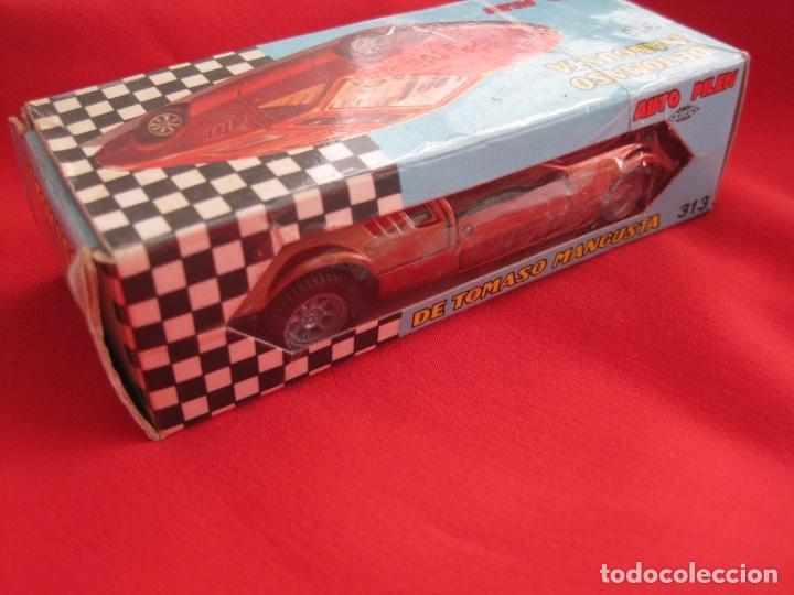 Coches a escala: coche DE TOMASO MANGUSTA--PILEN 313 BRONCE BRONZE---IMPECABLE - Foto 5 - 142676562