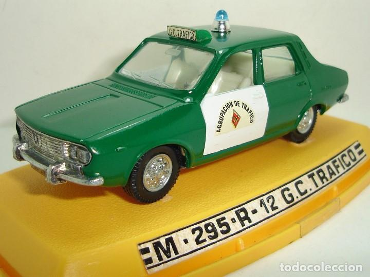 ANTIGUO RENAULT 12 GUARDIA CIVIL AGRUPACION DE TRAFICO PILEN ESCALA 1:43 (Juguetes - Coches a Escala 1:43 Pilen)