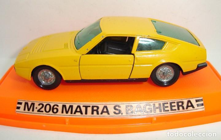 Coches a escala: ANTIGUO MATRA BAGHEERA PILEN ESCALA 1:43 - Foto 4 - 147467574