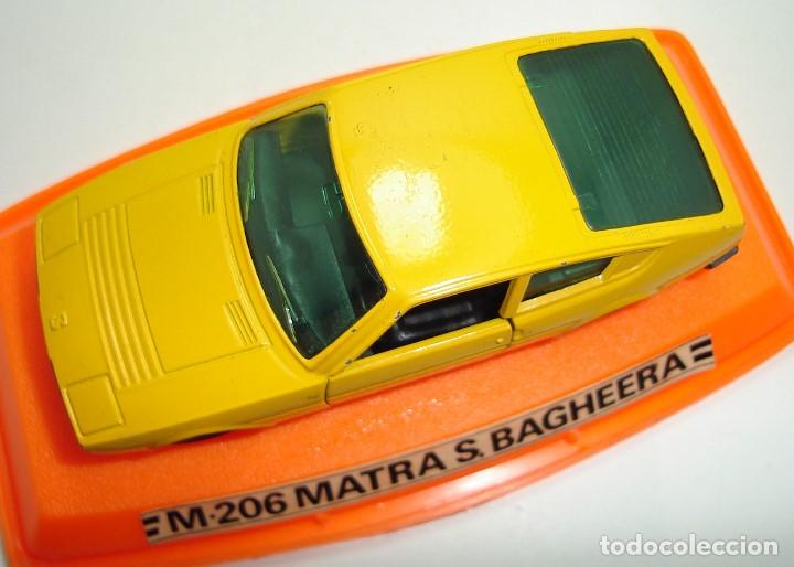 Coches a escala: ANTIGUO MATRA BAGHEERA PILEN ESCALA 1:43 - Foto 9 - 147467574