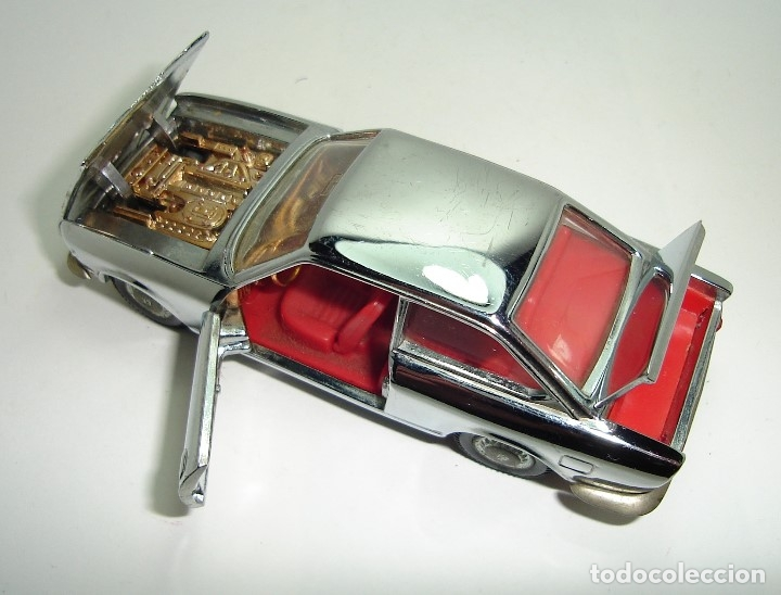 Modellautos: ANTIGUO SEAT 124 SPORT COUPE CROMADO PILEN ESCALA 1:43 - Foto 8 - 147486226