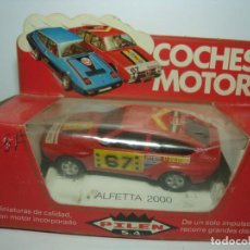 Coches a escala: ALFA ROMEO ALFETTA DE PILEN COCHES MOTOR. NUEVO EN CAJA . Lote 150495918