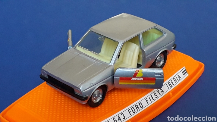Coches a escala: Ford Fiesta Iberia ref. 543, metal esc. 1/43, Pilen made in Spain, original años 70-80. Con caja. - Foto 1 - 157778997